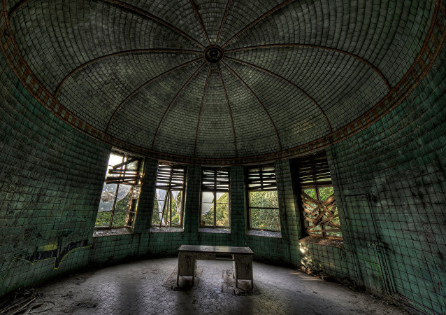 L'hôpital Beelitz-Heilstätten en Allemagne