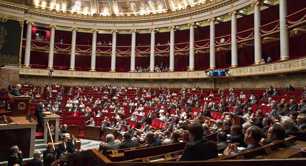 Parlement français. Photo d'archive