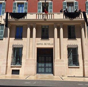 La mairie de Nice en deuil