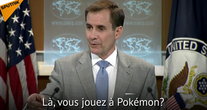 Quand un Pokémon interrompt un briefing du Pentagone...