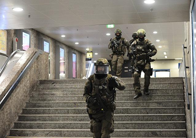 La police de Munich