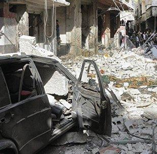 Explosion d'une voiture piégée à Damas, des blessés