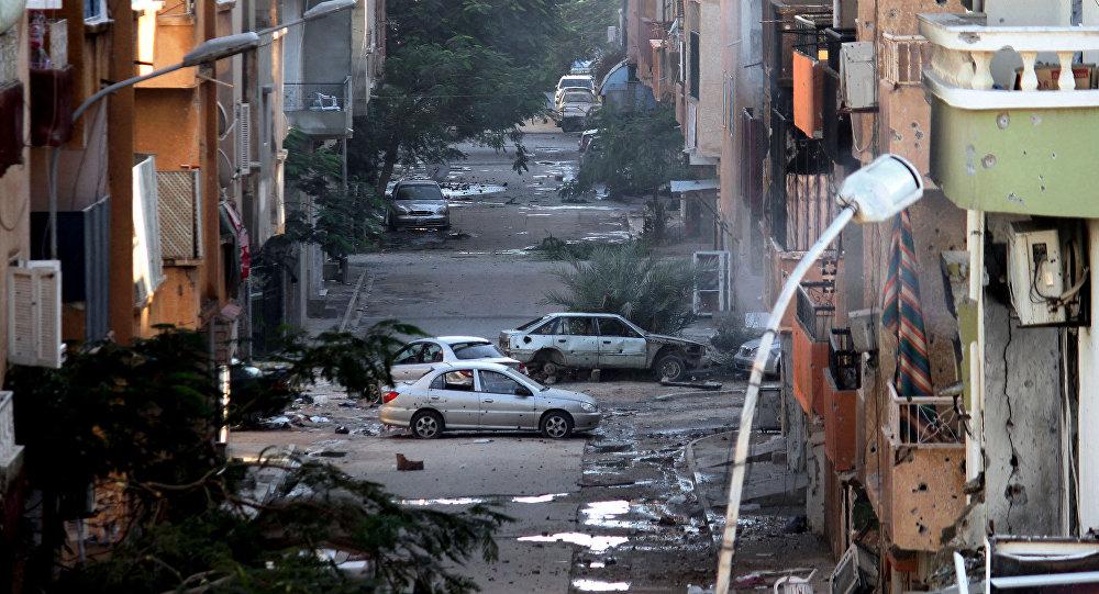 Libye en ruines suite aux heurts entre des militaires libyens et des milices islamistes