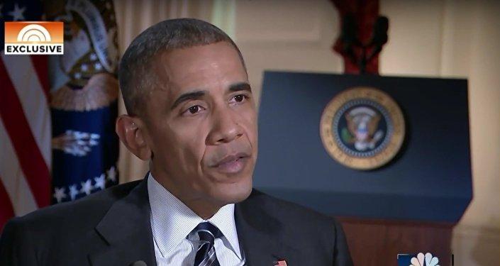 Entretien du président américain Barack Obama à la chaîne NBC News