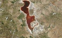 Le lac d'Ourmia