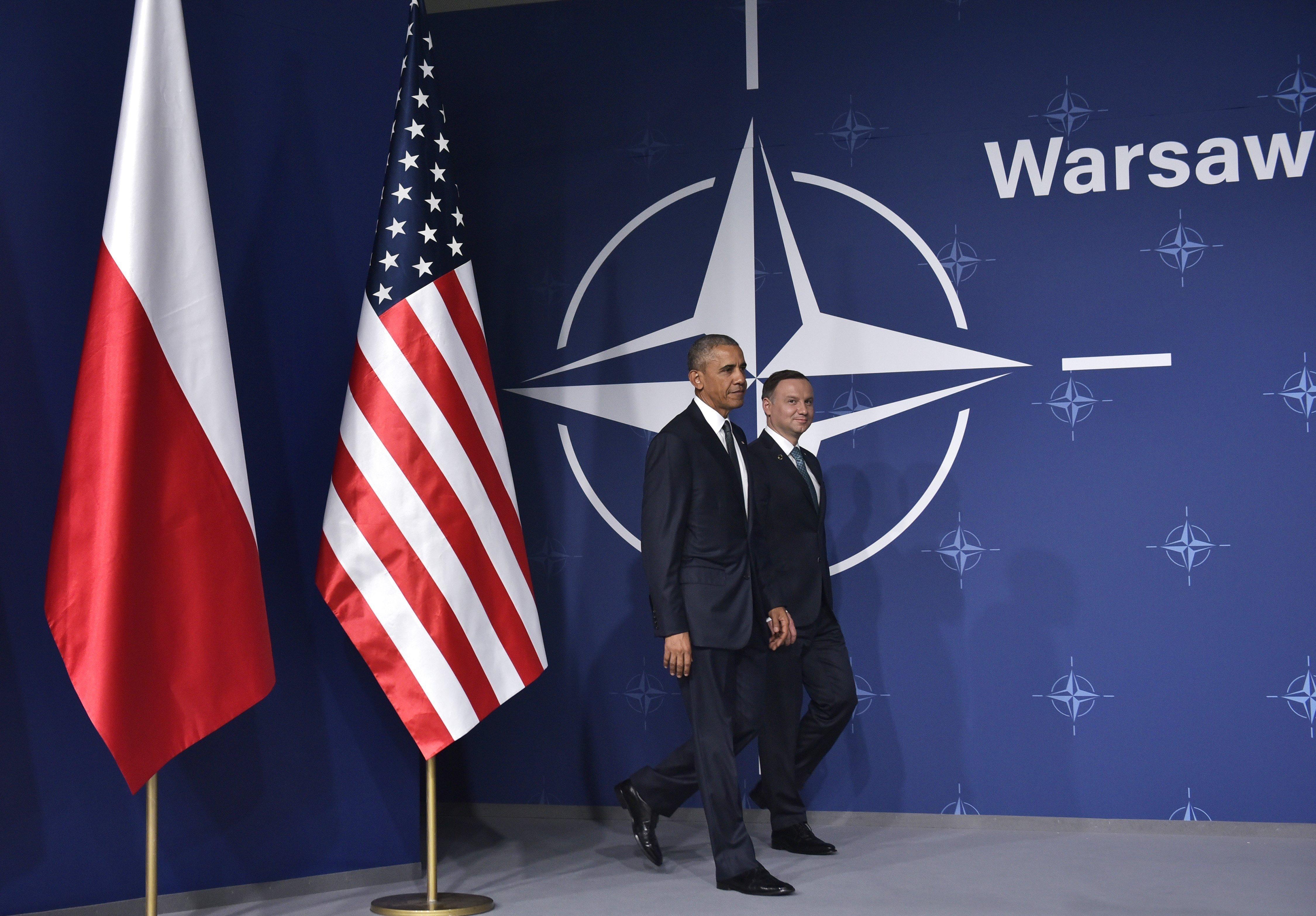 Sommet de l'Otan à Varsovie