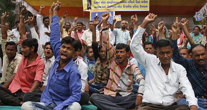 En Inde, la révolte des Intouchables gronde