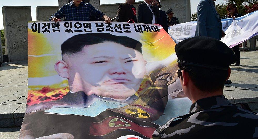 dépliants anti-Pyongyang