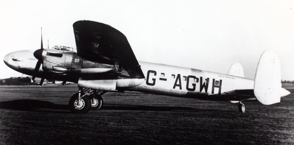 L'avion civil Star Dust