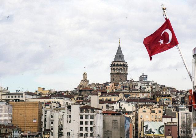 Drapeau turc, Istanbul