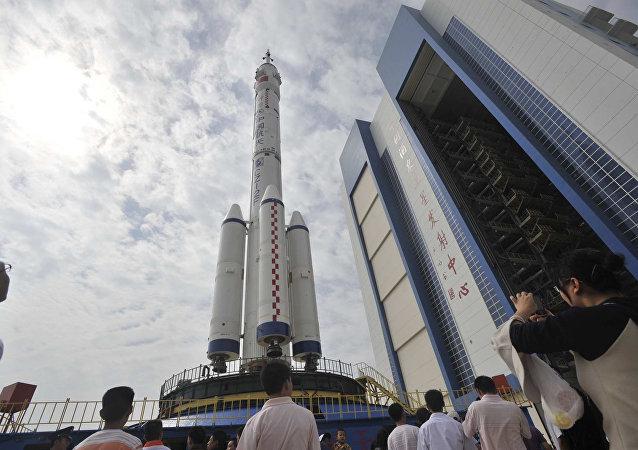 La fusée chinoise Longue Mars - 7. Image d'illustration