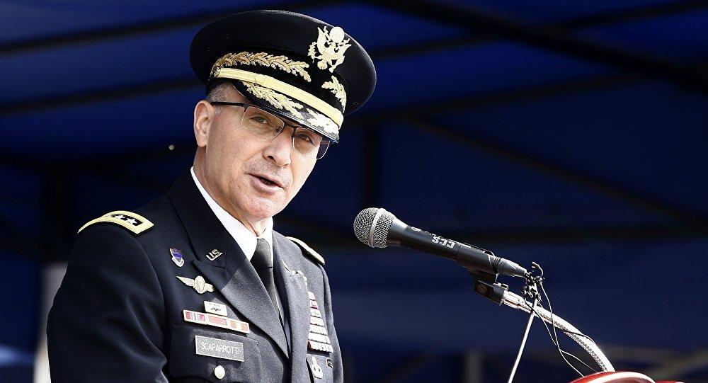 Curtis Scaparrotti, commandant suprême de Forces alliées en Europe