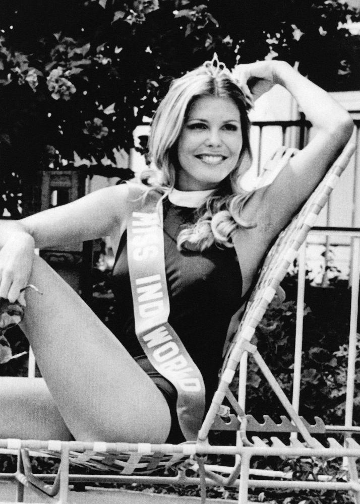 Marjorie Wallace est devenue la première américaine à  gagner le concours Miss Monde