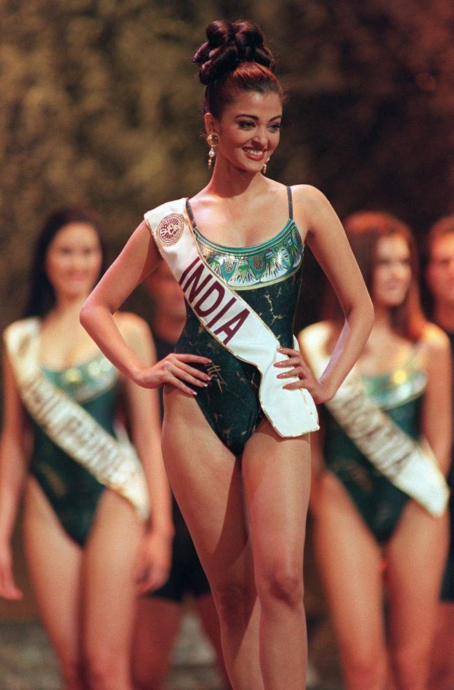 Le mannequin indien Aishwarya Rai est l'une des gagnantes du concours les plus connues