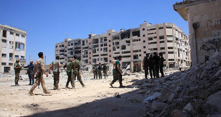 L'armée syrienne reprend le contrôle de la ville d'Alep