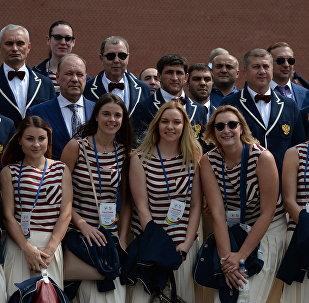 La sélection olympique russe