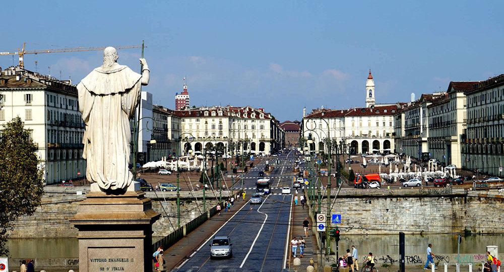 Turin, chef-lieu de la région du Piémont