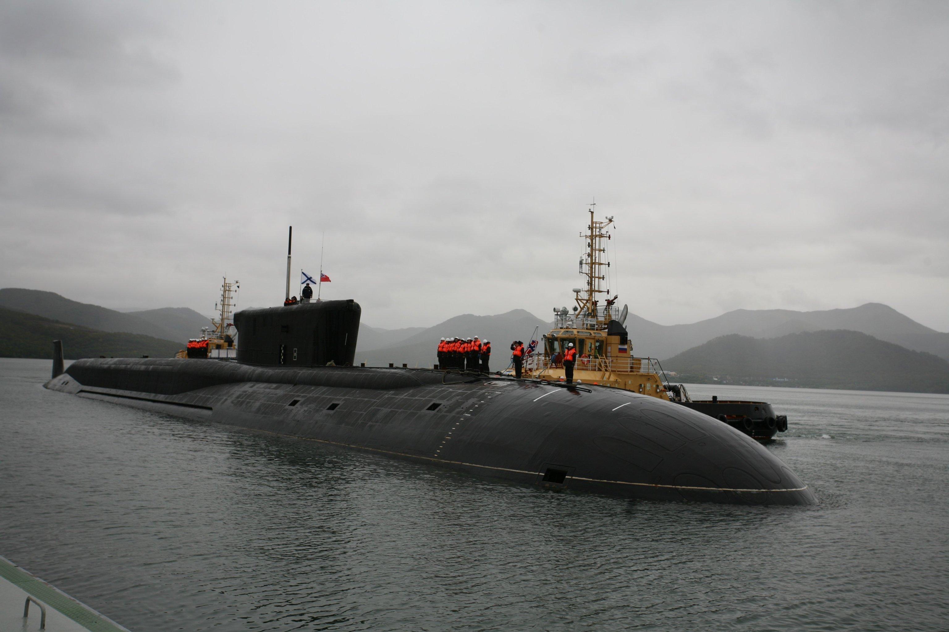 Le sous-marin nucléaire Alexandre Nevski