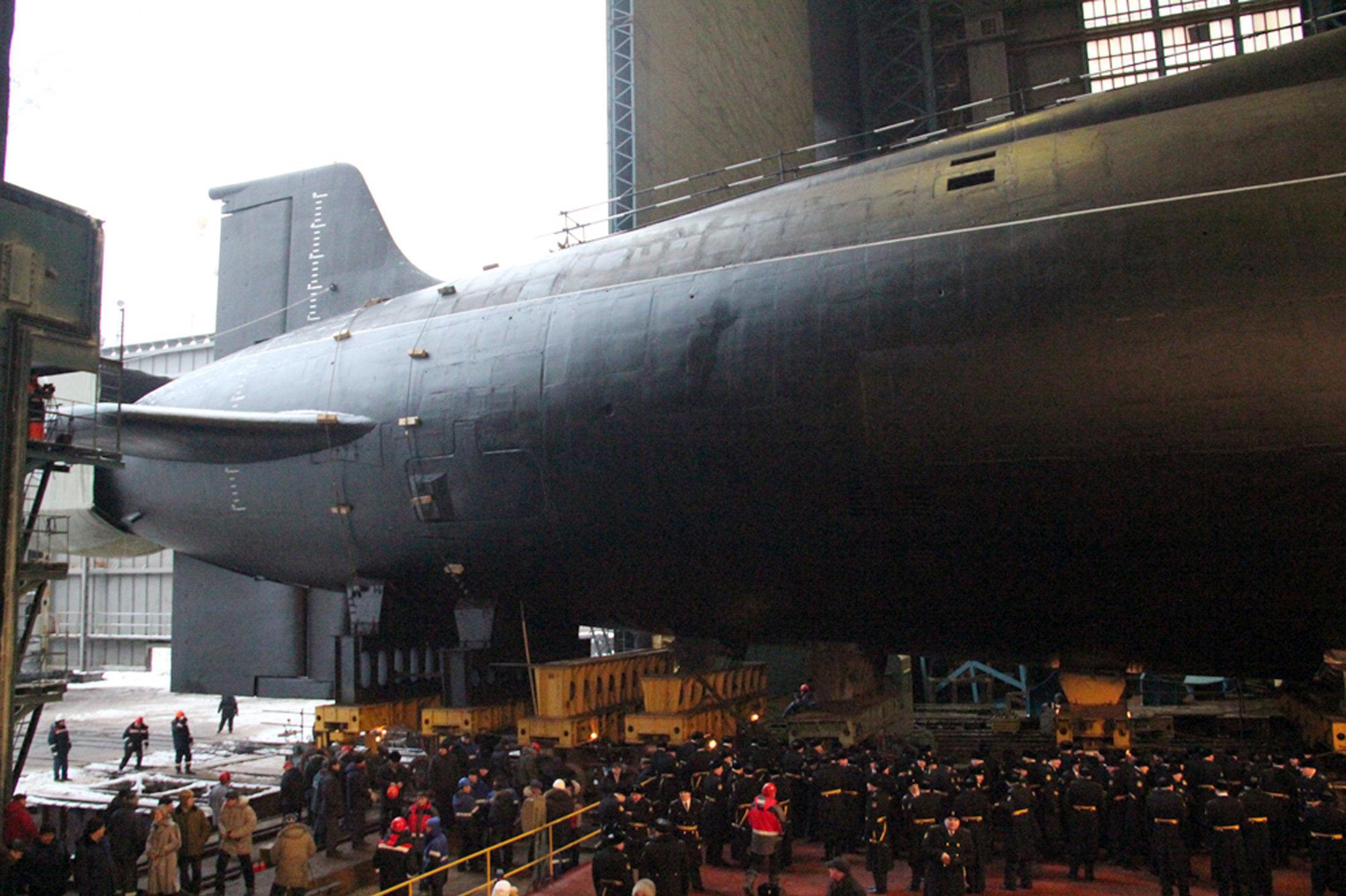 Le sous-marin nucléaire Vladimir Monomakh