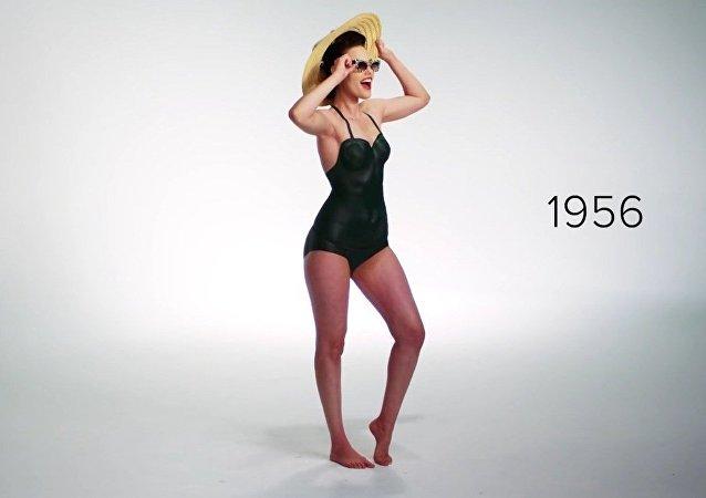 100 ans d'évolution du maillot de bain