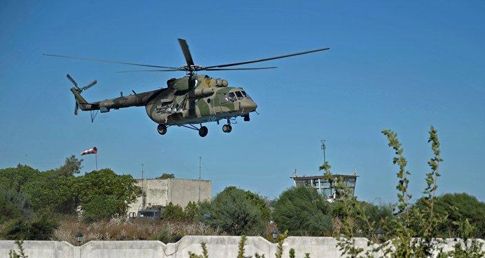 Un hélicoptère Mi-8. Archive photo