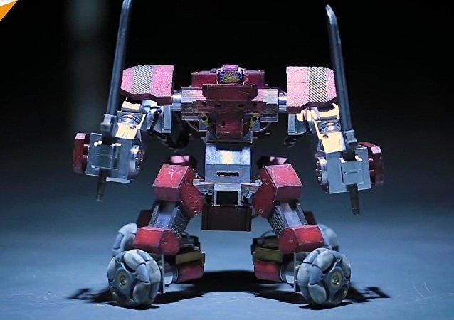 Le Ganker: un robot de combat personnel