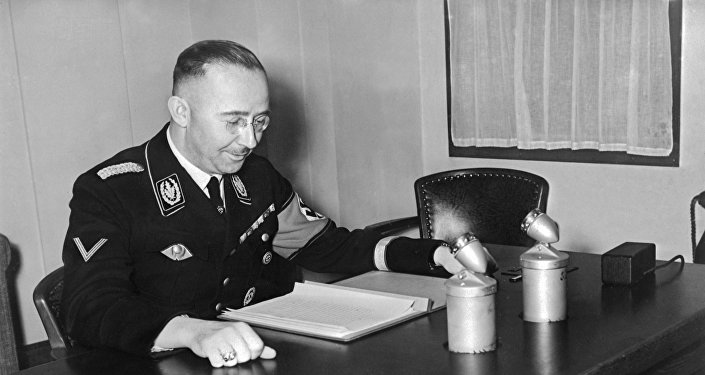Photo d'archive datée de 1939 de Heinrich Himmler