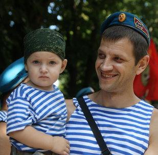 Journée des troupes aéroportées (VDV) en Russie, le 2 août