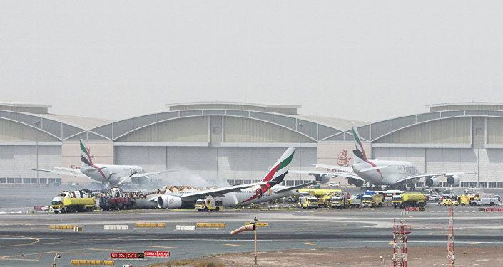 Situation à l'aéroport de Dubaï