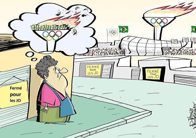 JO: le Brésil perdra 1 milliard de réals par jour de repos
