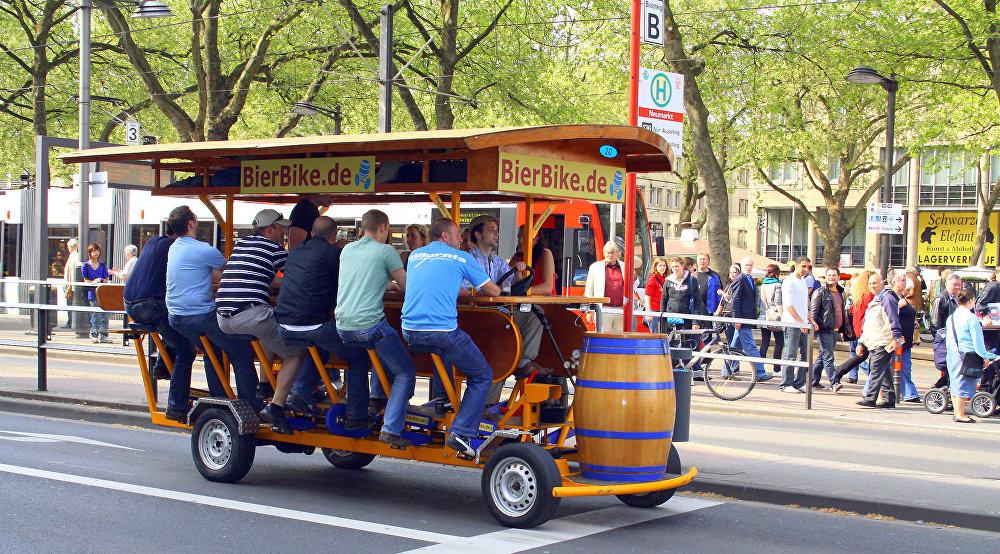 Les moyens de transport les plus insolites du monde