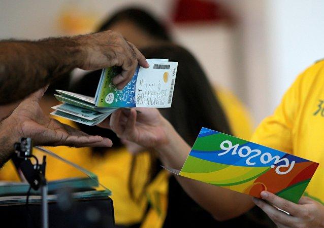 L'achat des billets pour les Jeux de Rio