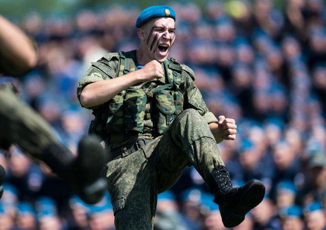 Les troupes aéroportées russes