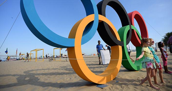 Les cercles olympiques