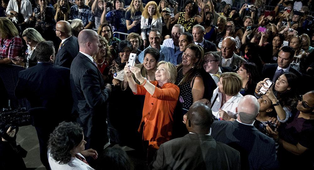 Hillary Clinton à Kissimmee