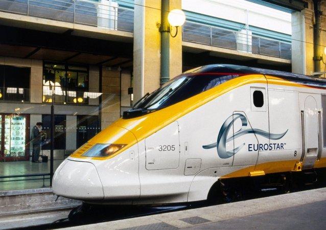 Un train d'Eurostar