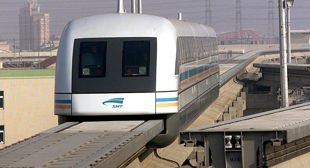 En Chine, le premier train magnétique