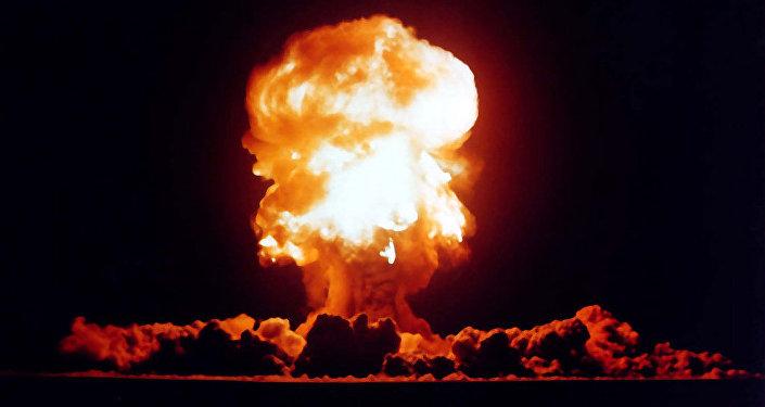 Le test d'arme nucléaire