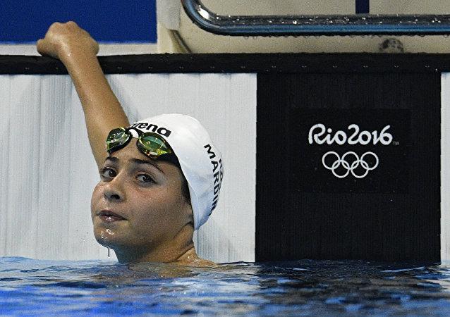 Yusra Mardini, nageuse syrienne