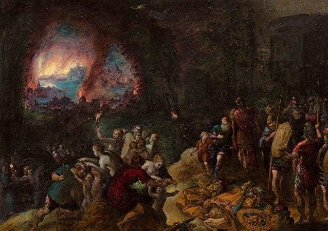 Le voyage du Troyen Enée jusqu'en Italie bientôt reconstitué?