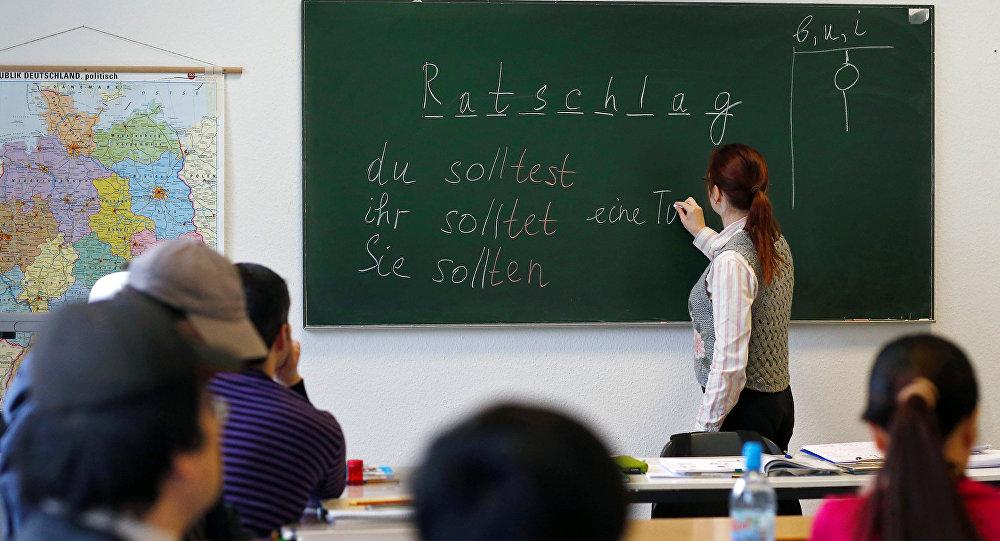 Dans une école