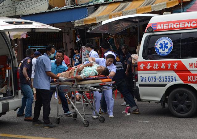Thaïlande: les attaques contre les sites touristiques sont liées, selon la police