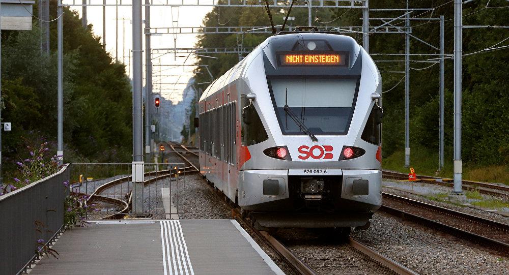 l'attaque dans un train en Suisse