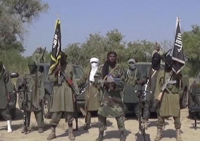 Djihadistes de Boko Haram. Archive photo