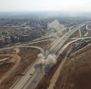 Des combats à Alep