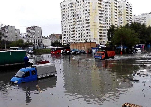Déluge à Moscou