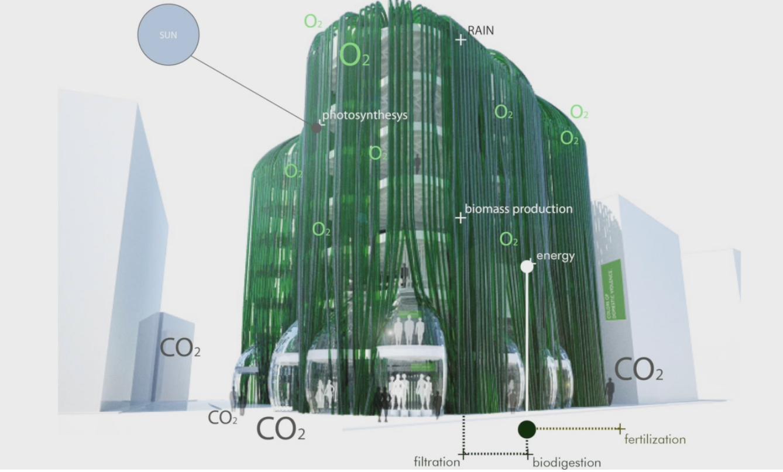 Et si nos logements nous fournissaient un jour nourriture, électricité et oxygène?