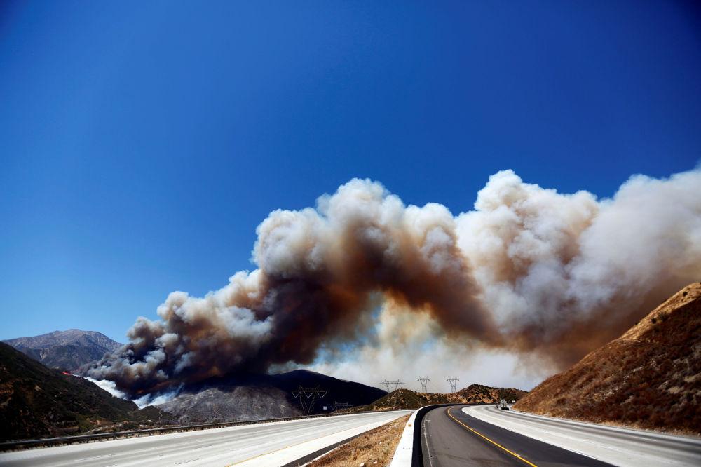 Les habitants de plus de 35.000 immeubles ont dû quitter leurs maisons suite aux incendies qui font rage dans l'Etat de Californie