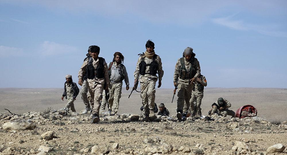 Combattants des Forces démocratiques kurdes