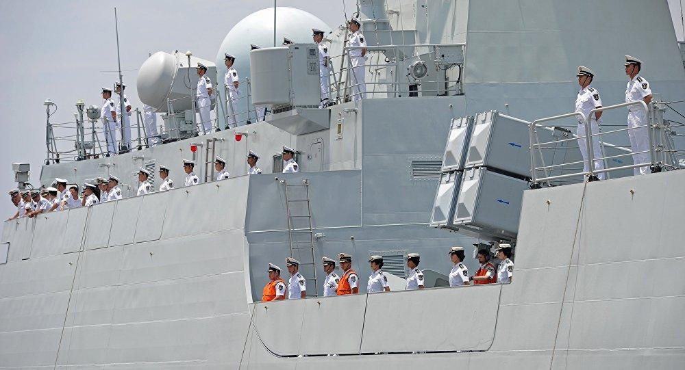Un navire de la Marine chinoise